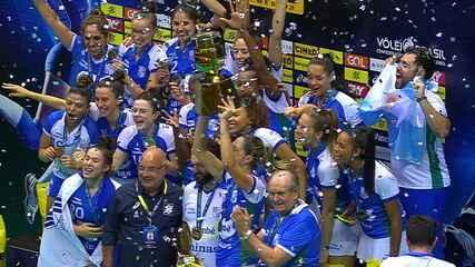 Minas vence vence os dois jogos contra o Praia Clube e conquista a Superliga