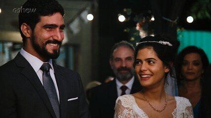 Confira os bastidores do casamento de Laila e Jamil