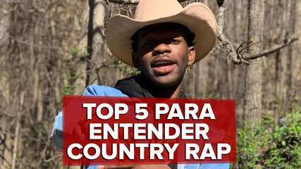 Top 5 para entender o que é country rap