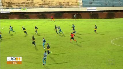 Força Jovem vence o Palmas no estádio Nilton Santos