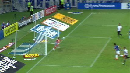 Que defesa! Fábio impediu o gol de empate do Ceará na cabeçada de Ricardo Bueno