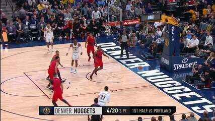 Melhores momentos: Portland Trail Blazers 97 x 90 Denver Nuggets