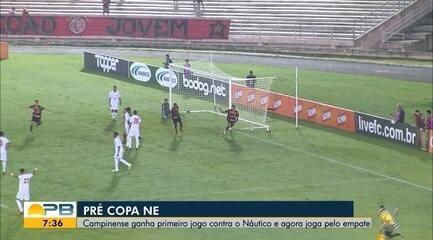 Campinense x Náutico: veja como foi a vitória do time paraibano