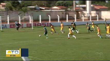 Alvorada derrota Interporto na 7ª rodada do Campeonato Tocantinense