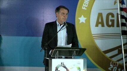 Bolsonaro anuncia R$ 1 bi para o seguro rural e defende isentar proprietário rural de punição