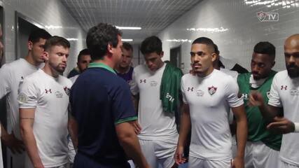 Confira os bastidores da vitória do Fluminense sobre o Grêmio no Brasileirão