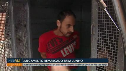 Júri popular de acusado de matar jovem no Rio São Jorge, em Ponta Grossa, é marcado