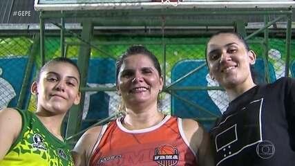 Por amor ao basquete, família Ferreira deixa tudo em Maceió e se muda para Recife