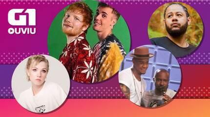 Justin Bieber com Ed Sheeran, Emicida com Dona Onete, Léo Santana com Thiaguinho, Carly Ra