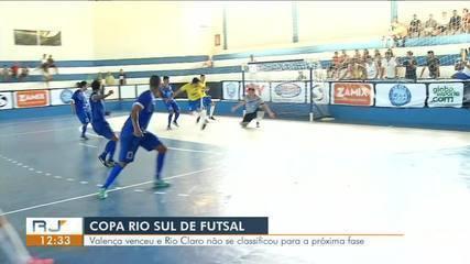 Valença vence Rio Claro, elimina adversário e classifica Angra dos Reis