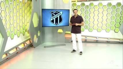Ceará vai se adaptando ao estilo de Enderson Moreira, e jogadores disputam vagas no time