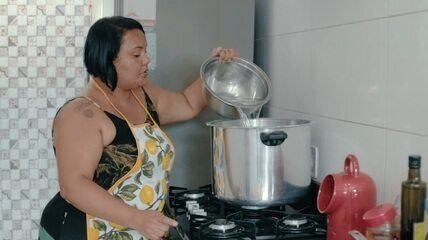 Último episódio de 'Cozinha e Afeto' mostra o mungunzá salgado de Josiane Reis
