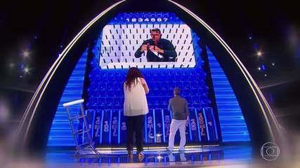 Adílson e Adenaide continuam na disputa pelo prêmio no 'The Wall'