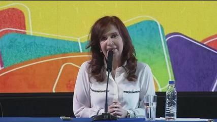 Cristina Kirchner vai concorrer à vice-presidência da Argentina
