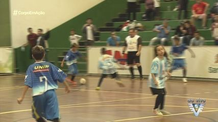 1ª fase de classificação da 17ª Copa TV Tribuna de Futsal terminou neste sábado (18)