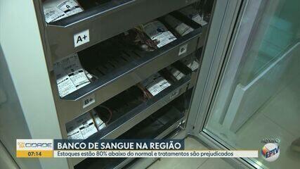 Estoques de sangue caem e Centro de Hematologia faz campanha