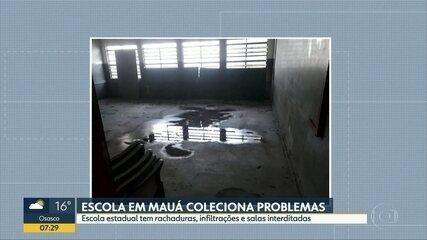 Escola de Mauá coleciona problemas