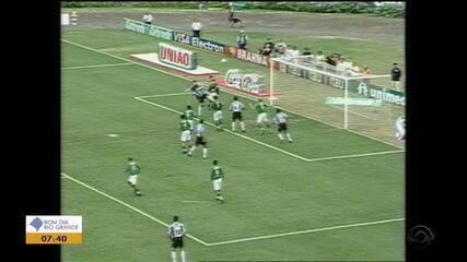 Grêmio elimina o Juventude no Brasileirão de 2002