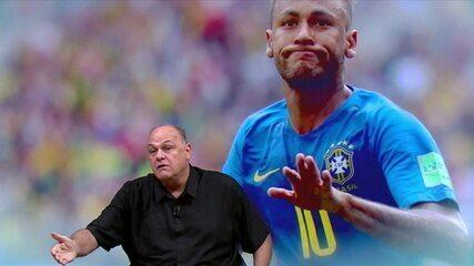 """Oscar Schimidt critica Neymar em participação no programa Grande Círculo: """"Ele não sabe o que faz"""""""