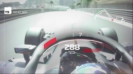 Dê uma volta pelo circuito de rua de Monte Carlo com Daniel Ricciardo, pole de 2018