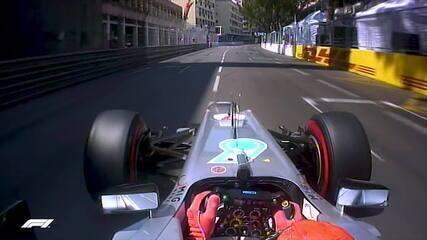 Volta onboard de Michael Schumacher na classificação em Mônaco, em 2012