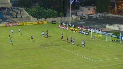 Veja os melhores momentos de São Bento 1 x 0 Oeste
