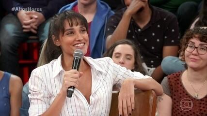 Débora Nascimento diz que recebe muito carinho nas ruas