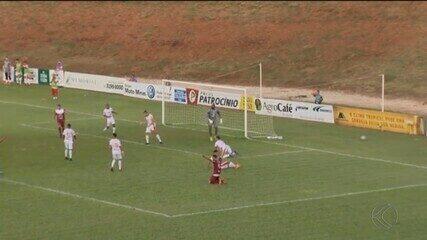 Patrocinense vence União-MT e lidera grupo na Série D do Brasileiro