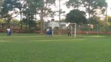 Gessé marco dois gols de falta em competição amadora no Acre