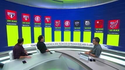 Espião Estatístico mostra números dos técnicos estrangeiros nos clubes brasileiros