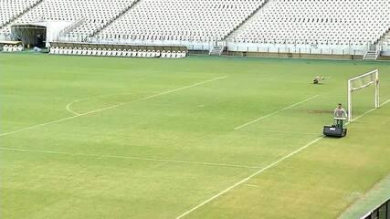Gramado da Arena Castelão passará por melhoria na pausa da Copa América
