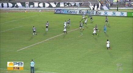 Assista aos gols da vitória do Botafogo-PB por 3 a 1 diante do Globo FC