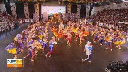 Dez grupos se classificam para a final estadual do Festival de Quadrilhas Juninas da Globo