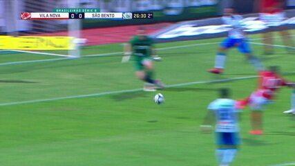 Melhores momentos: Vila Nova 1 x 0 São Bento pela 8ª rodada da Série B do Brasileiro
