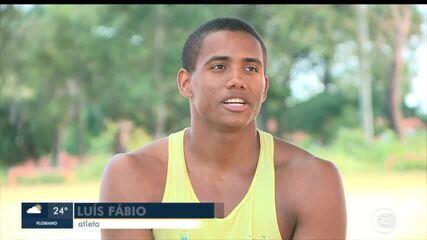 Luís Fábio é representante piauiense em Sul Americano de atletismo