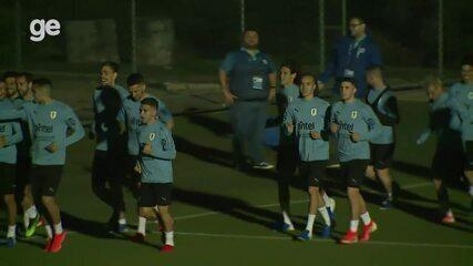 Uruguai faz primeiro treino em Belo Horizonte para a Copa América