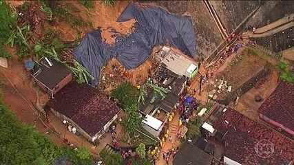 Chega a sete o número de mortos por causa das chuvas na região metropolitana do Recife