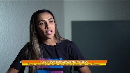 """Marta pede que igualdade na remuneração entre mulheres e homens: """"É um abismo"""""""