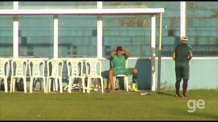 Wesley Pacheco sente a panturrilha e deixa treino do Paysandu