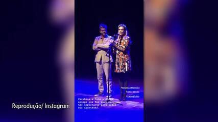 Fernanda Lima recebe prêmio de Melhor Programa de TV de 2018 por 'Amor e Sexo'