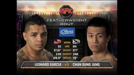 UFC Seattle - Leonard Garcia x Zumbi Coreano