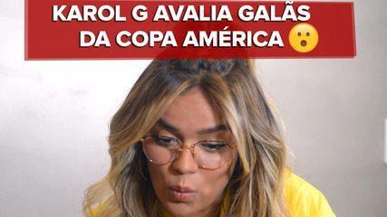 Karol G, cantora da música tema da Copa América, elege os galãs do campeonato