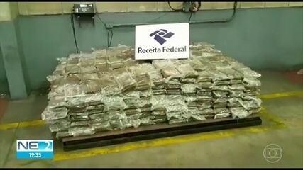 Mais de 800 quilos de cocaína são apreendidos no Porto de Suape