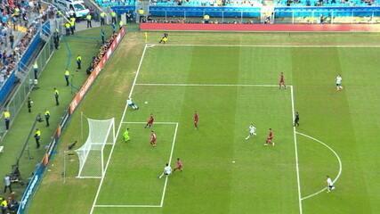 Melhores momentos de Catar 0 x 2 Argentina pela 3ª rodada da Copa América