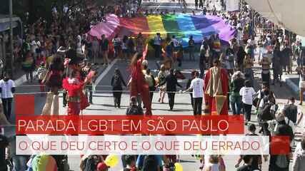 Parada LGBT 2019: veja o que deu certo e o que deu errado