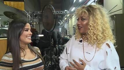 Ludmilla responde a quiz sobre Rihanna e fala sobre experiência no 'Show dos Famosos'