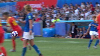 Melhores momentos de Itália 2 X 0 China pela Copa do Mundo de Futebol Feminino