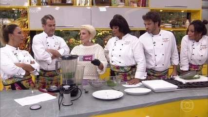 Ana Maria ensina a fazer couve em pó