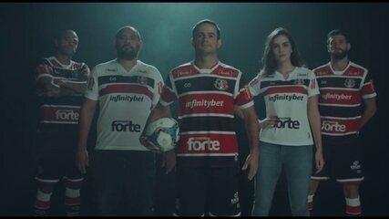 Santa Cruz lança vídeo promocional de novo uniforme de marca própria