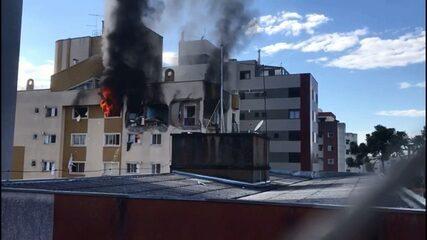 Explosão aconteceu na manhã deste sábado (29)
